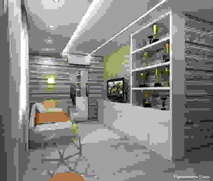 Квартира в г. Киров Медиа комната в классическом стиле от Елена Овсянникова Классический