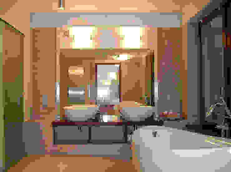 Modern bathroom by atz-studio Modern