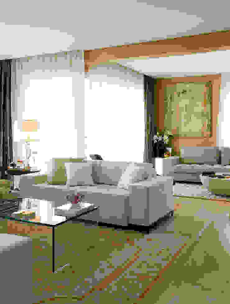 GRAN PARC VILA NOVA Salas de estar clássicas por GUSTAVO GARCIA ARQUITETURA E DESIGN Clássico