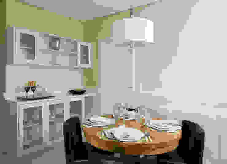 Klasik Yemek Odası GUSTAVO GARCIA ARQUITETURA E DESIGN Klasik
