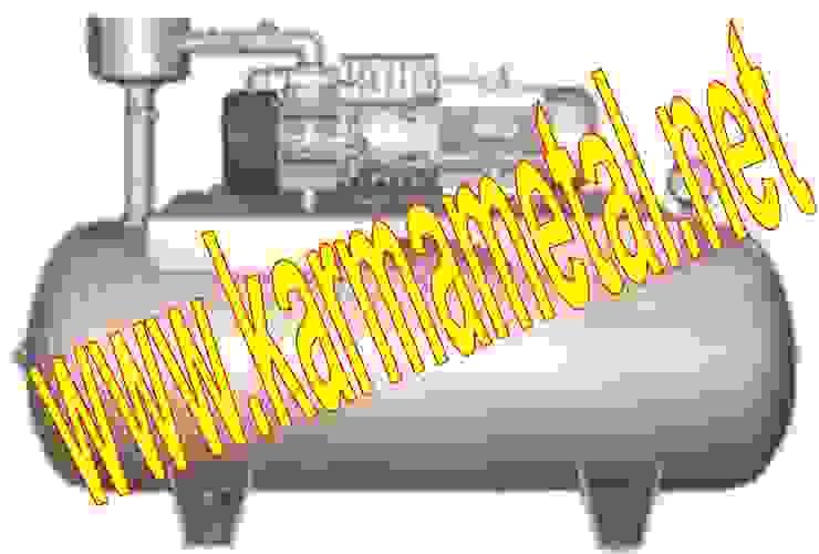KARMA METAL - Paslanmaz Negatif Basınçlı Vakum Tankı Tüpü Endüstriyel Çocuk Odası KARMA METAL Endüstriyel