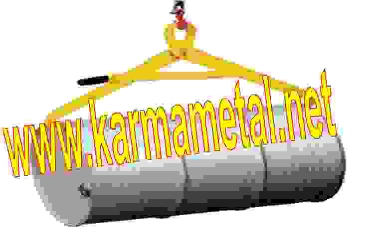 Industrialny balkon, taras i weranda od KARMA METAL Industrialny