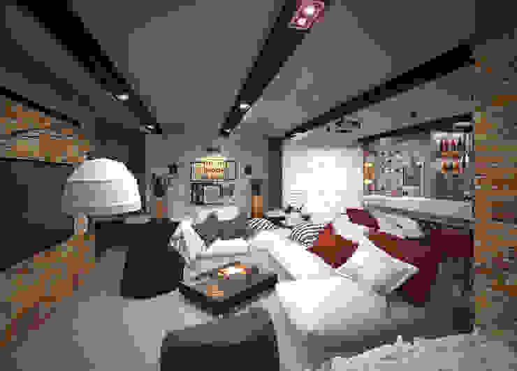 Домашний кинотеатр Медиа комната в классическом стиле от Виталия Бабаева и Дарья Дикая Классический