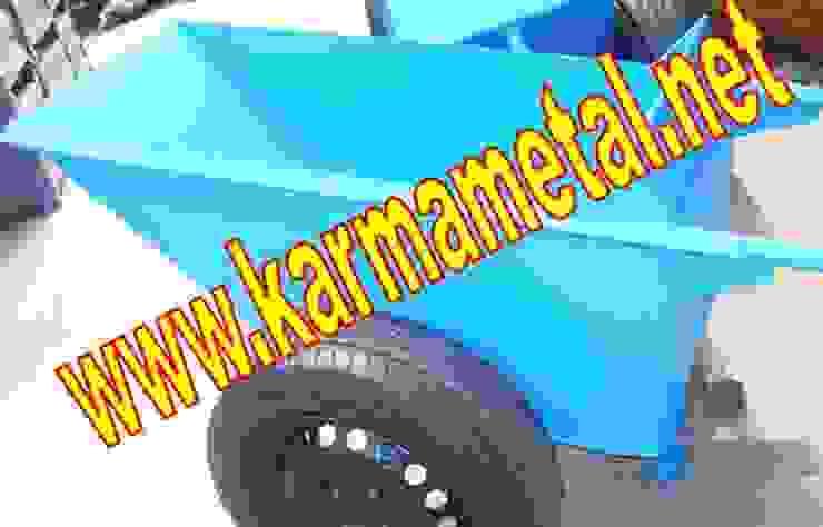 KARMA METAL – Japon Tipi İnşaat Harç Taşıma Arabası Çift Tekerlekli El Arabaları Endüstriyel Mutfak KARMA METAL Endüstriyel