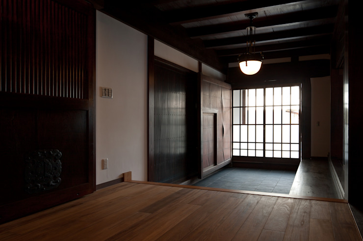 玄関3 の 杉江直樹設計室