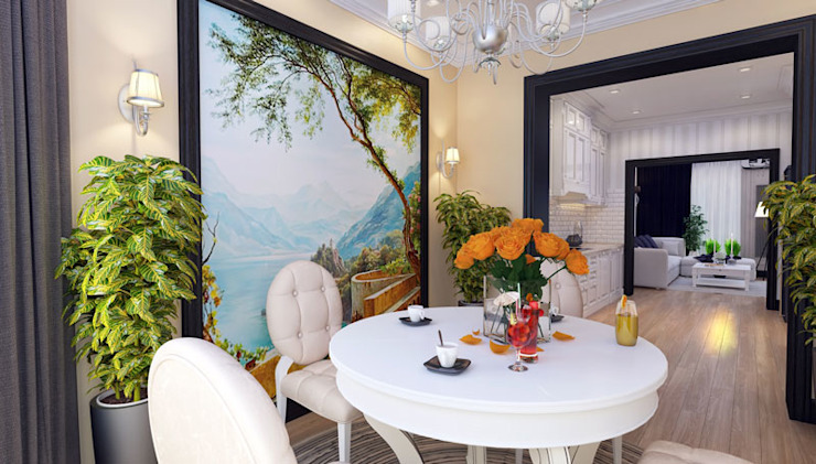 Classic style dining room by Mushulov Project Classic