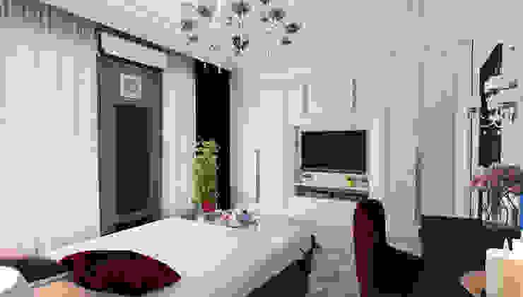 Частный дом (Краснодар) Mushulov Project Спальня в классическом стиле