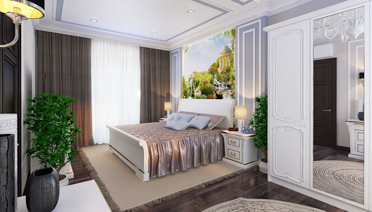Classic style bedroom by Mushulov Project Classic