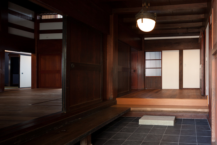 玄関2 の 杉江直樹設計室