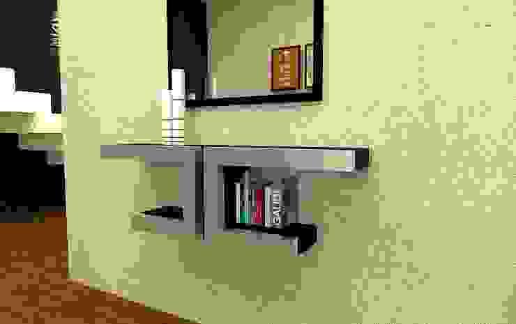 Domine design Corridor, hallway & stairsDrawers & shelves Metal Metallic/Silver
