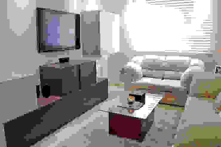 Salon de style  par APOTEMA Estudio de Diseño, Moderne MDF