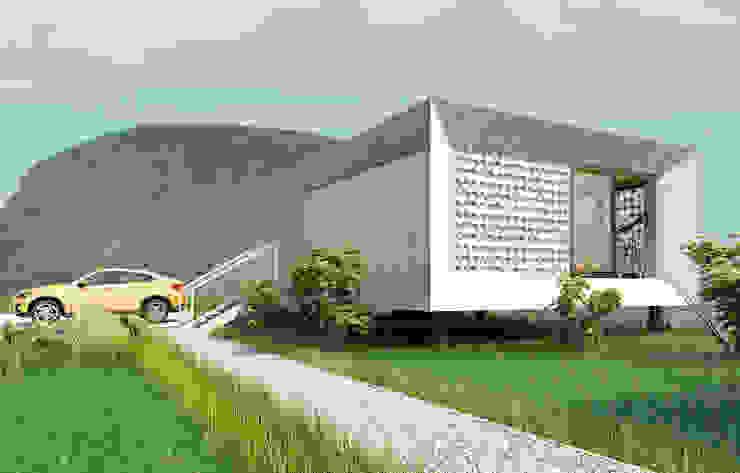Prefabricated House: Дома в . Автор – ALEXANDER ZHIDKOV ARCHITECT,