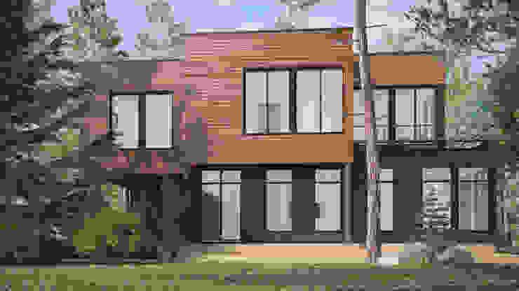 Дом на Николиной горе Дома в стиле минимализм от Studio of Architecture and Design 'St.art' Минимализм