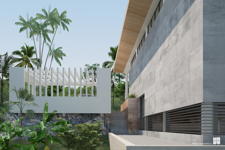SolCity Дома в стиле минимализм от Studio of Architecture and Design 'St.art' Минимализм