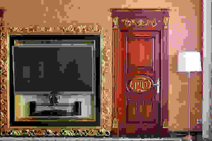Klasyczne okna i drzwi od Lesomodul Klasyczny