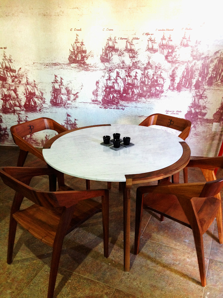 Rancho El Colomo // 2014. Comedores modernos de TocoMadera Moderno