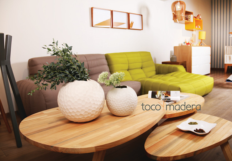 TOCOMADERA Showroom, Guadalajara. de TocoMadera Moderno