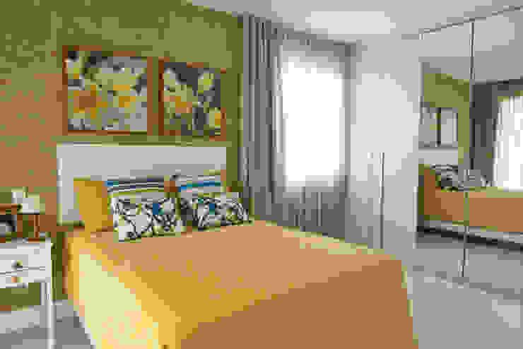 Pinheiro Martinez Arquitetura 臥室 Yellow