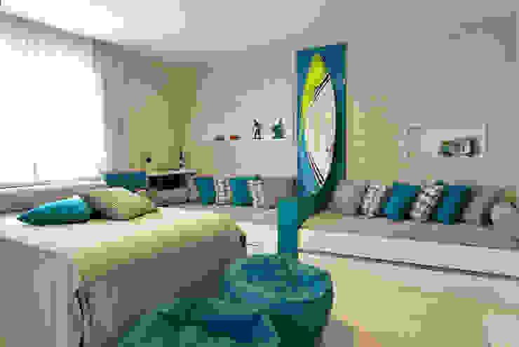 Pinheiro Martinez Arquitetura 臥室 Blue