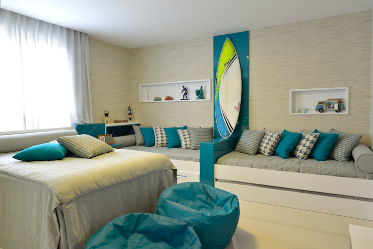 Modern style bedroom by Pinheiro Martinez Arquitetura Modern
