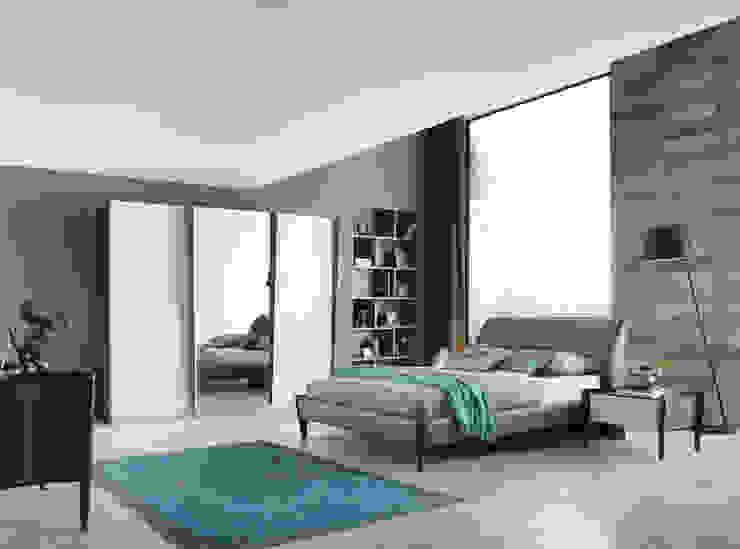 Projekty,  Sypialnia zaprojektowane przez NILL'S FURNITURE DESIGN,