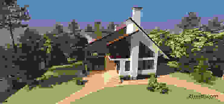 Scandinavian style houses by Студия дизайна и архитектуры Zherdi Scandinavian