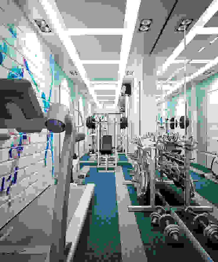 Спорт зал Медиа комната в стиле минимализм от Студия архитектуры и дизайна ДИАЛ Минимализм