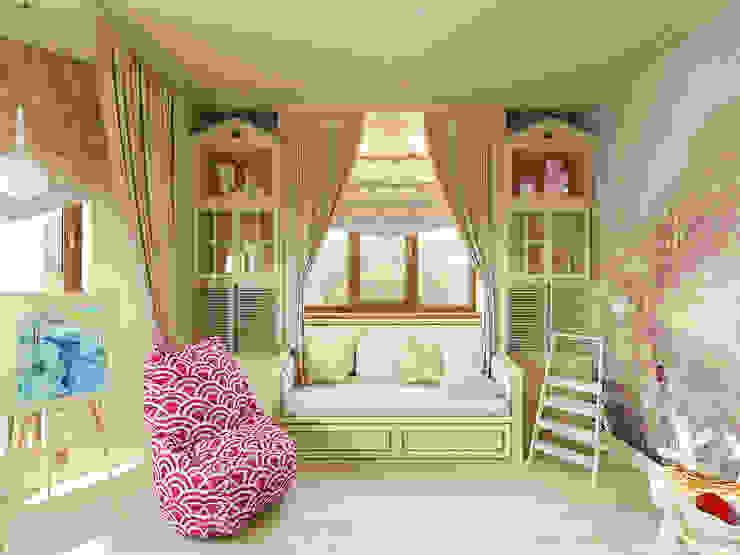 Projekty,  Pokój dziecięcy zaprojektowane przez A&D-interior,
