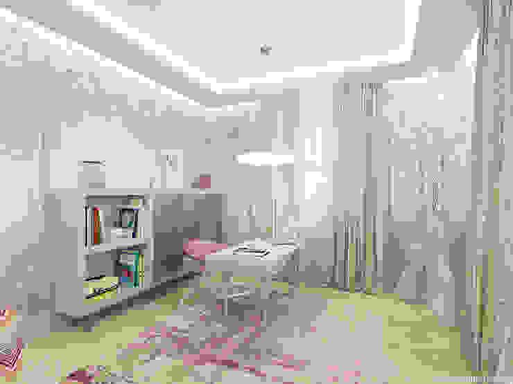 Комната хозяйки: Рабочие кабинеты в . Автор – A&D-interior,