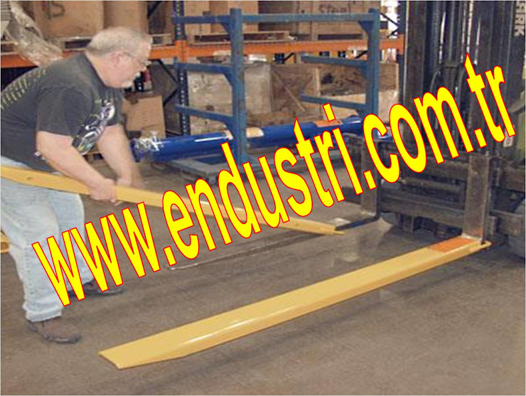 ENDÜSTRİ GRUP-Forklift Çatalı Bıçağı Uzatma Kılıfı Endüstriyel Çalışma Odası ENDÜSTRİ GRUP Endüstriyel