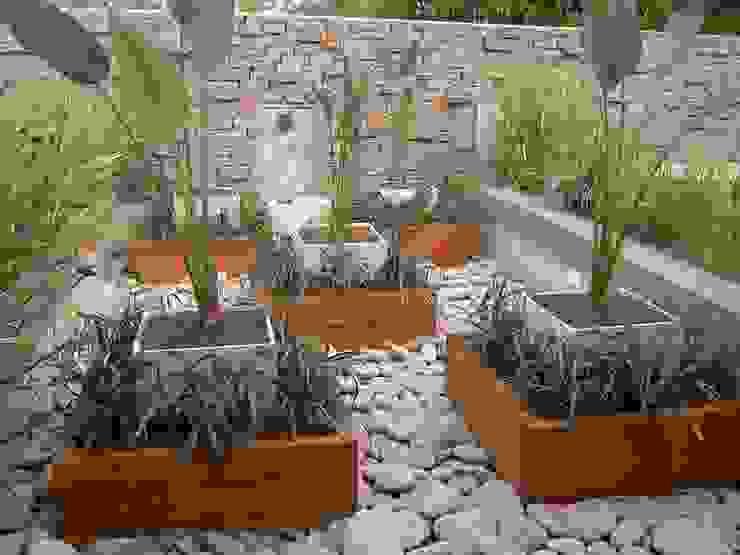 terraza Jardines asiáticos de BAIRES GREEN MUEBLES Asiático Granito