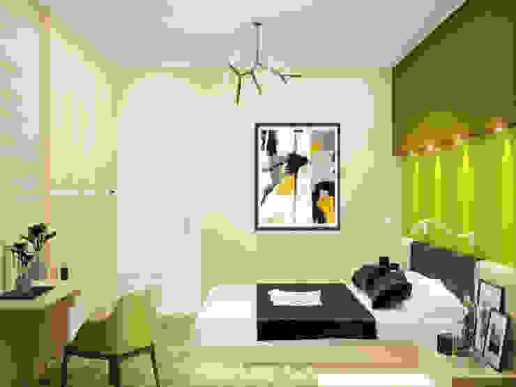 Minimalist bedroom by Студия дизайна Interior Design IDEAS Minimalist