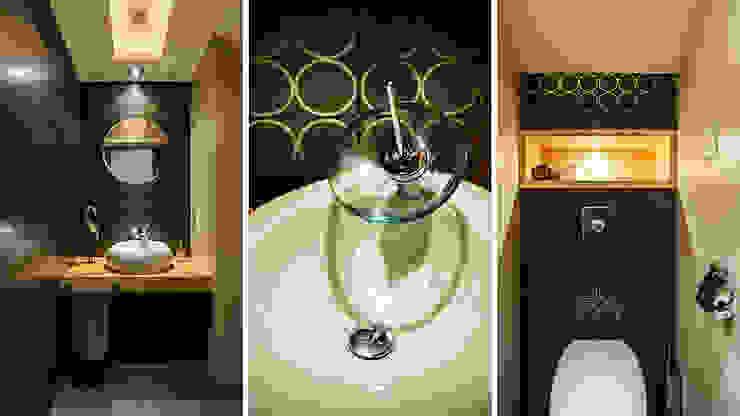 DOM JEDNORODZINNY – SOPOT Nowoczesna łazienka od Anna Serafin Architektura Wnętrz Nowoczesny