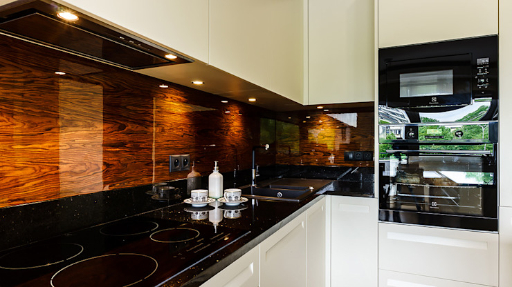 Cozinhas modernas por Anna Serafin Architektura Wnętrz Moderno