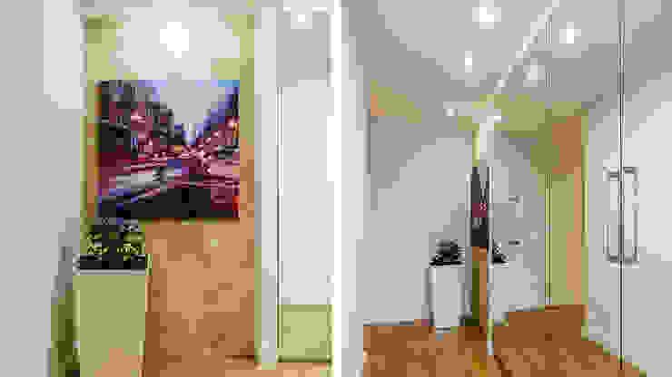 Modern corridor, hallway & stairs by Anna Serafin Architektura Wnętrz Modern