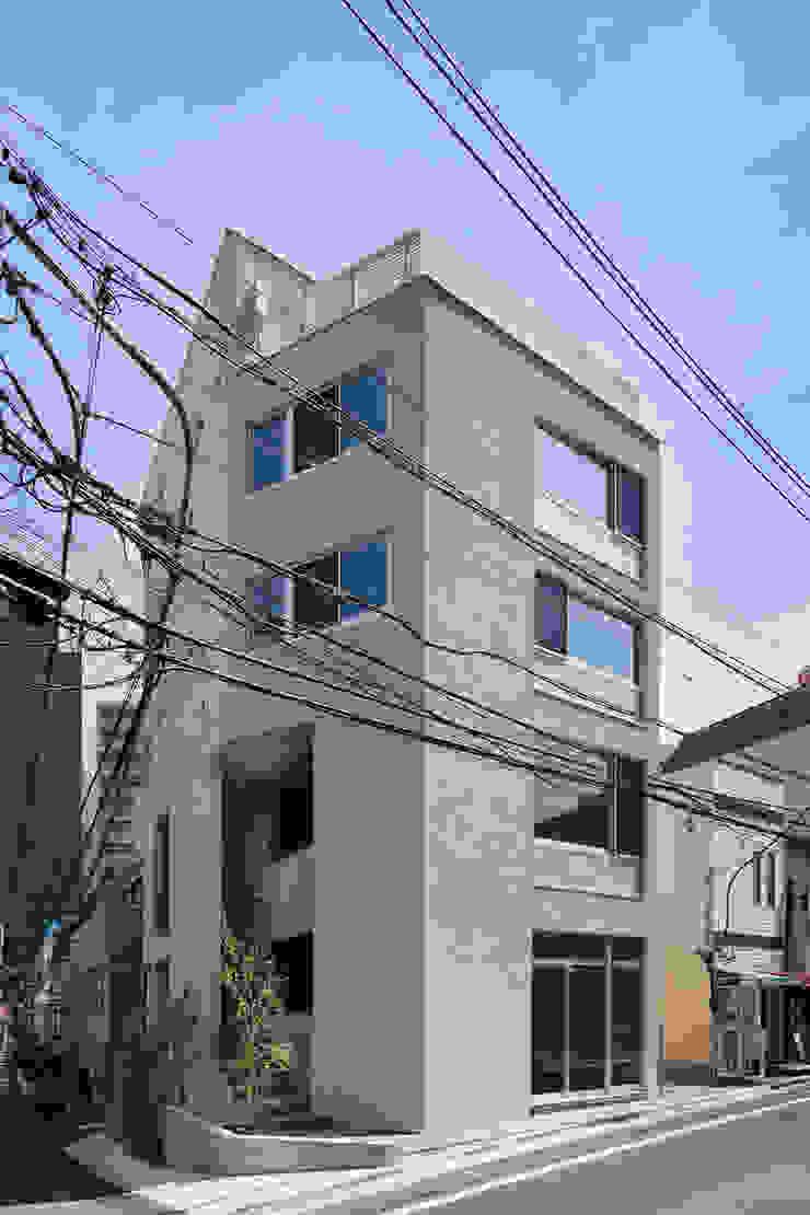 ファサード モダンな 家 の HAN環境・建築設計事務所 モダン