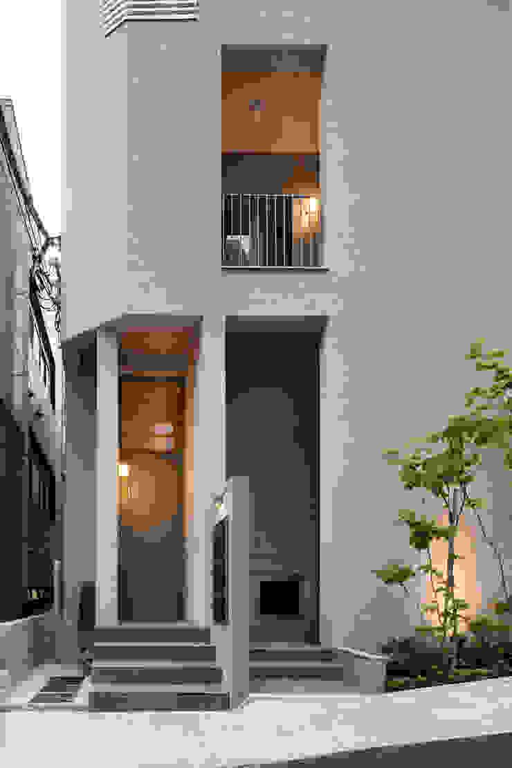 住戸エントランス モダンな 家 の HAN環境・建築設計事務所 モダン