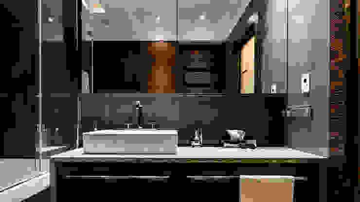 Ванные комнаты в . Автор – Anna Serafin Architektura Wnętrz, Модерн