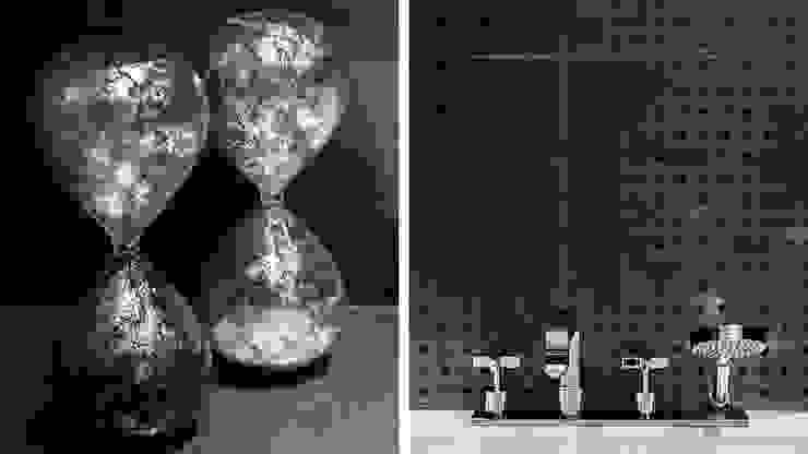 APARTAMENT – NEPTUN PARK – GDAŃSK Nowoczesna łazienka od Anna Serafin Architektura Wnętrz Nowoczesny