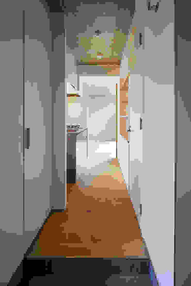 ワンルーム住戸Aキッチン モダンな キッチン の HAN環境・建築設計事務所 モダン