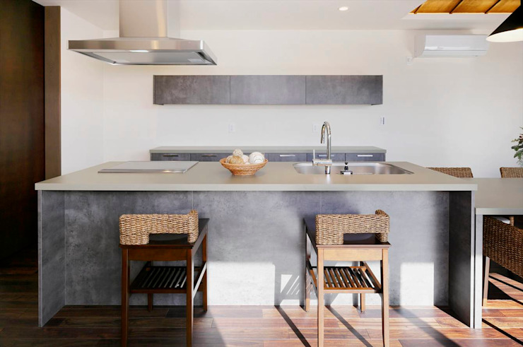 Asian style kitchen by homify Asian