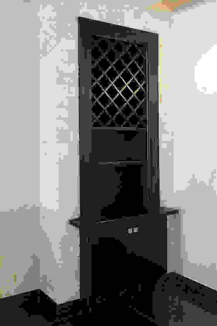 Деревянный интерьер для ресторана:  в современный. Автор – Lesomodul, Модерн