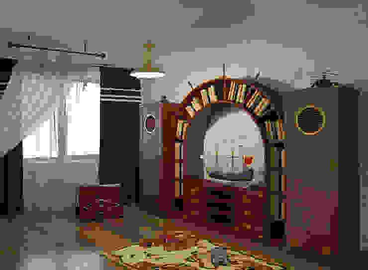 Детские Детские комната в эклектичном стиле от ООО ПрофЭксклюзив Студия дизайна интерьеров Эклектичный