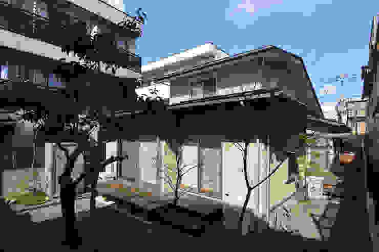 糀谷の家 日本家屋・アジアの家 の 一級建築士事務所やしろ設計室 和風 木 木目調