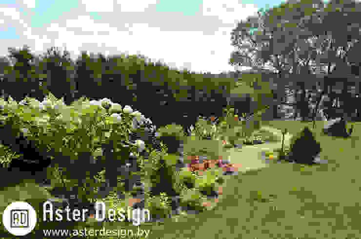 Garten von Aster Garden, Landhaus