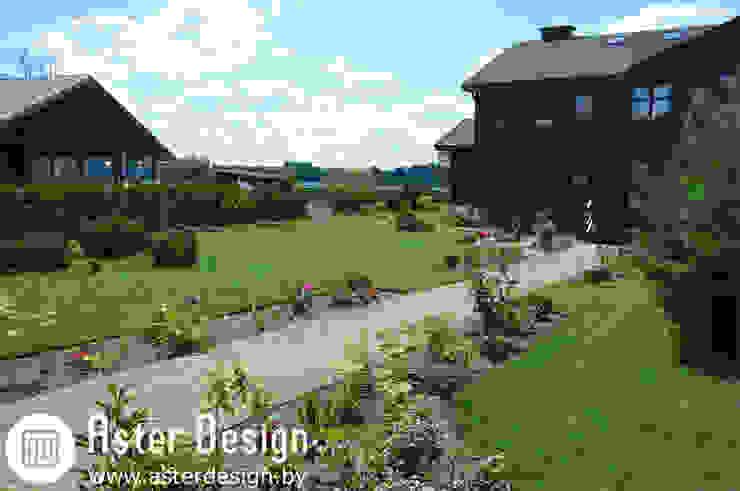 Ландшафтный дизайн в д. Кучки Сад в стиле кантри от Aster Garden Кантри