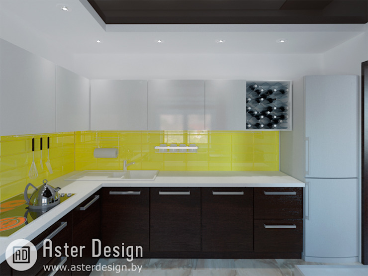 Современная квартира: Кухни в . Автор – ASTER DECO,