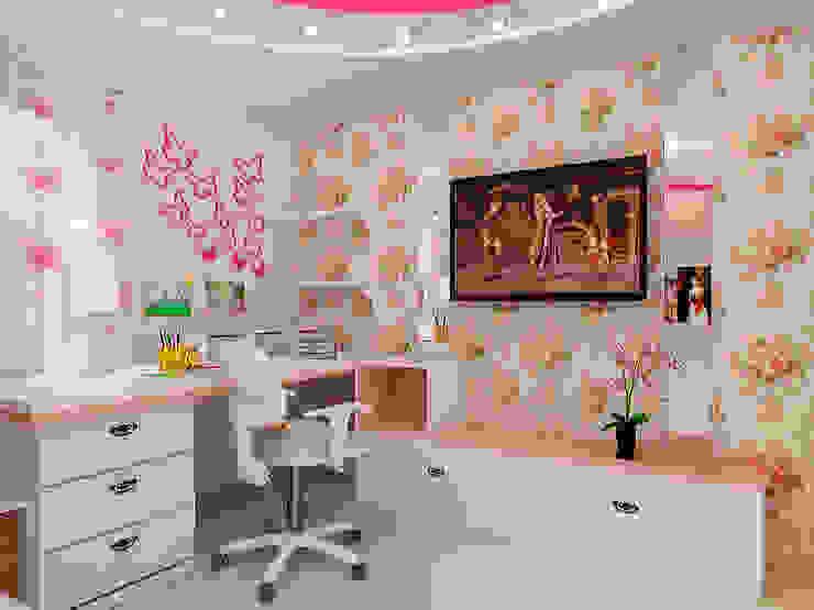 Eclectic style nursery/kids room by ПРОЕКТНАЯ СТУДИЯ Ирины Щуровой ДОМ Eclectic
