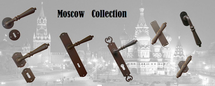 """Moscow"" Collection by Galbusera Galbusera Giancarlo & Giorgio S.n.c. Classic windows & doors Iron/Steel"