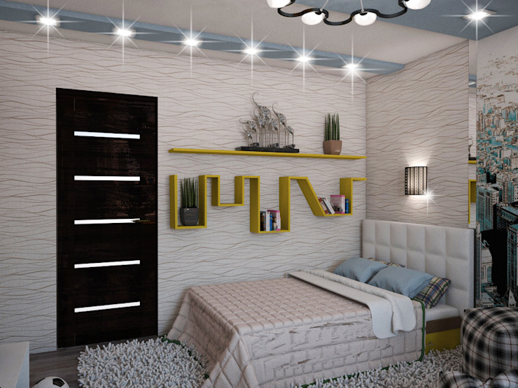 Nursery/kid's room by ПРОЕКТНАЯ СТУДИЯ Ирины Щуровой ДОМ